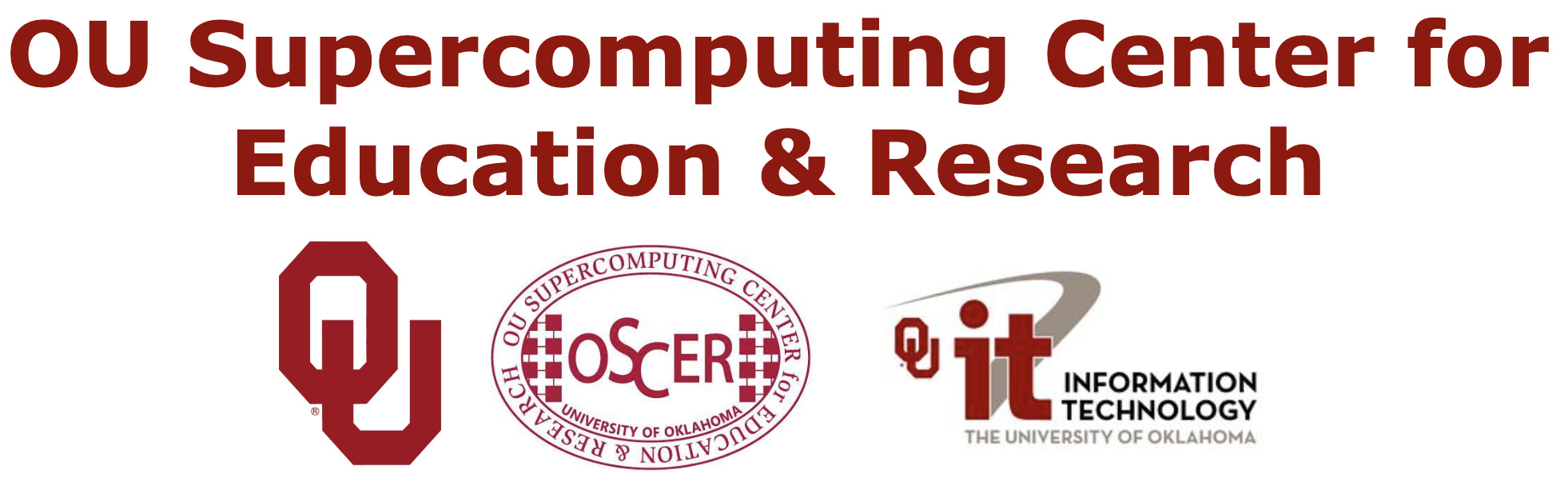 OU Supercomputing Center for Education & Research